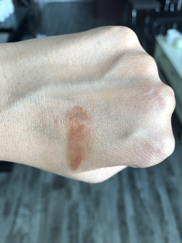 Givenchy Mister Radiant Swatch