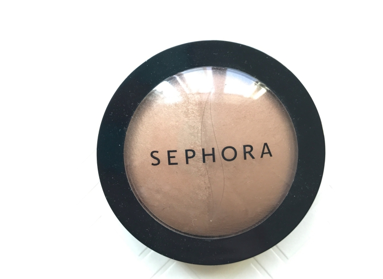 Sephora Collection MicroSmooth Baked Bronzer Duo 01 Honey Heat