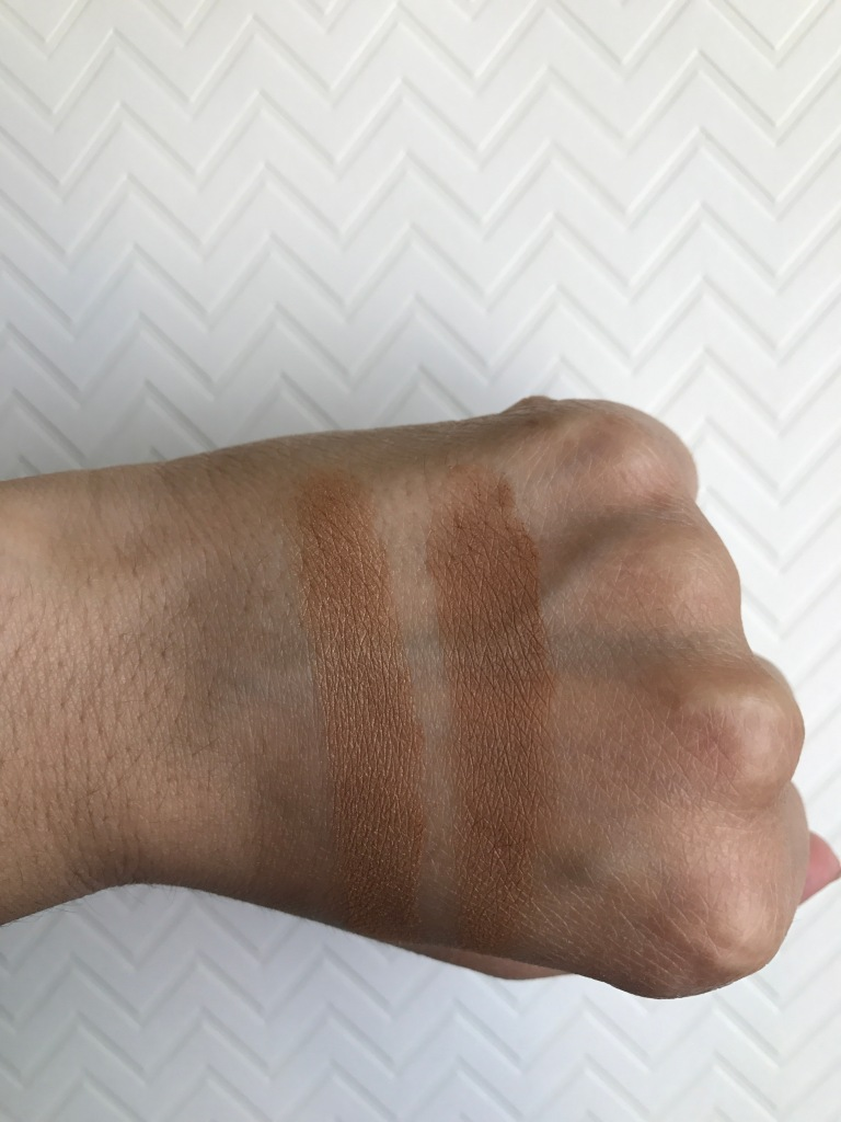 Sephora Collection MicroSmooth Baked Bronzer Duo 01 Honey Heat swatch
