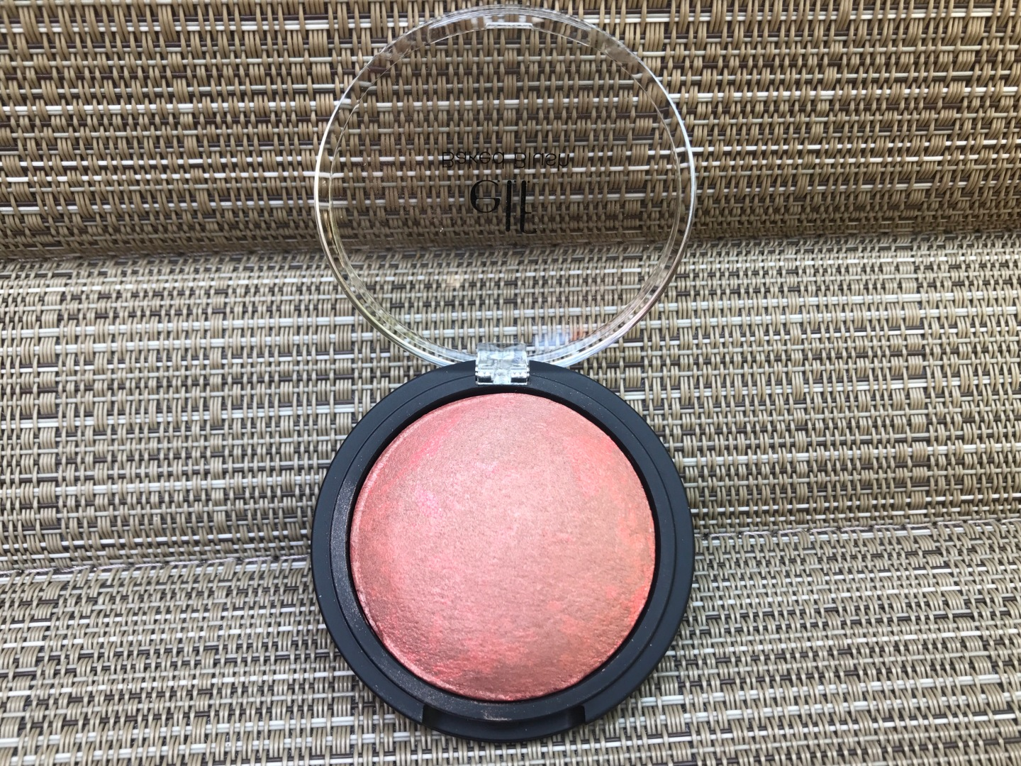ELF Baked Blush Blush: Rich Rose