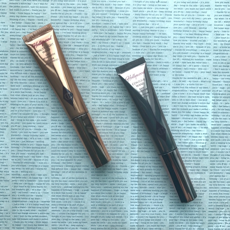 Charlotte Tilbury Hollywood Beauty Light Wand and Contour Wand: Light Medium