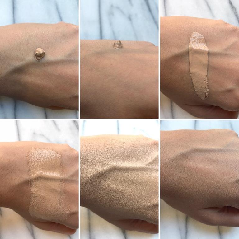 Bourjois Healthy Mix Foundation 55 beige swatch