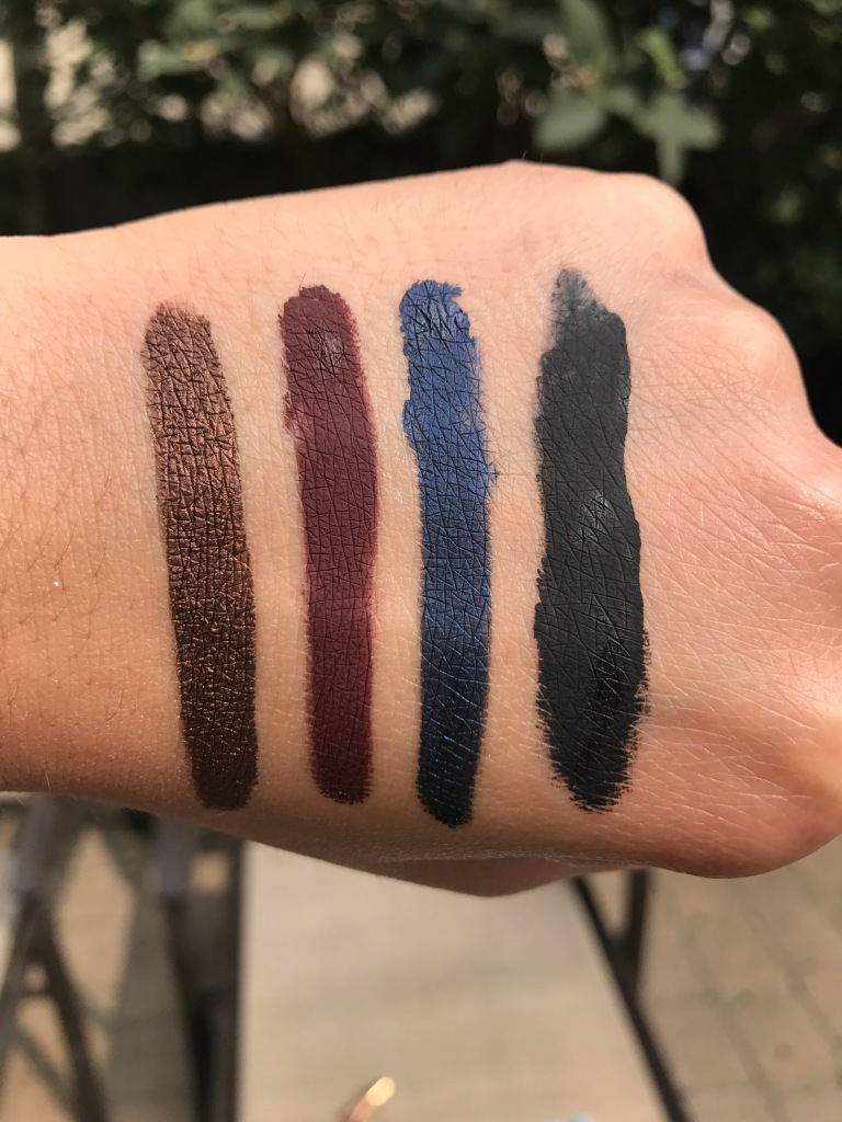 Tarte clay paint liner swatch
